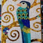 Détail oiseau Klimt